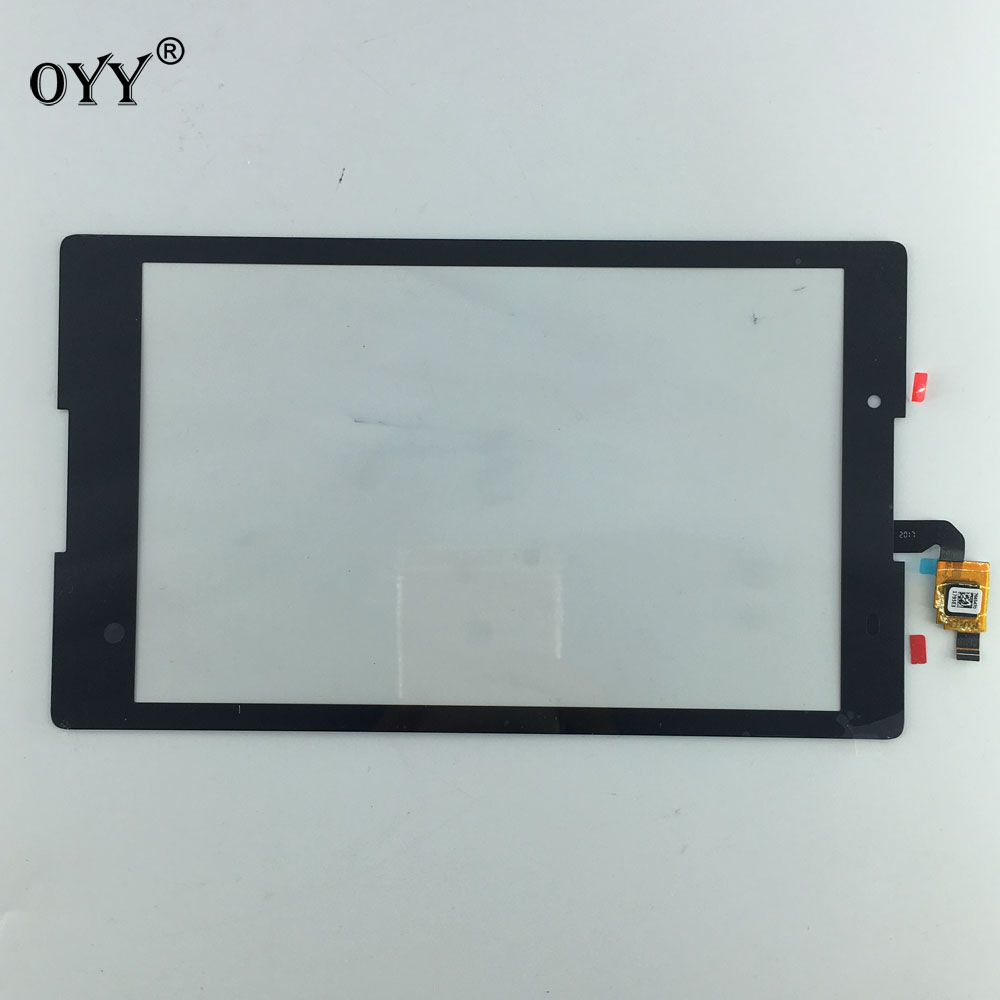 8 inch Touch Screen Panel Digitizer Replacement parts For Lenovo Tab2 A8-50LC A8-50F tablet pc black white 10 1 inch touch screen digitizer glass panel replacement parts for lenovo tab 2 a10 30 yt3 x30 x30f tb2 x30f tb2 x30l a6500