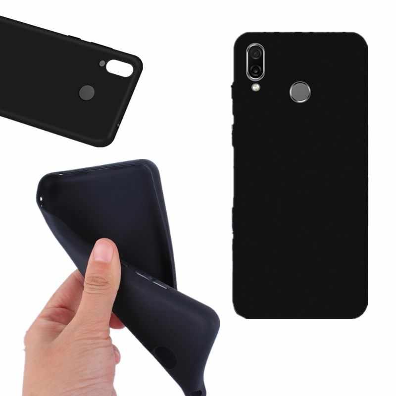 Ultra İnce Yumuşak TPU kılıf Huawei Mate 10 Lite P 8 10 9 Lite Mini 2017 P9 Lite Siyah Durumlarda huawei P20 Lite P Akıllı Coque