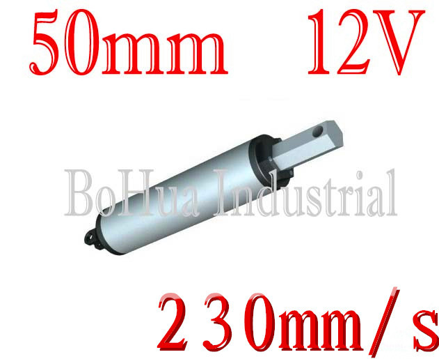 Best Excellent 12v 24v 50mm Stroke Sd 230mm S Thrust 50n Mini Linear Actuator Electric