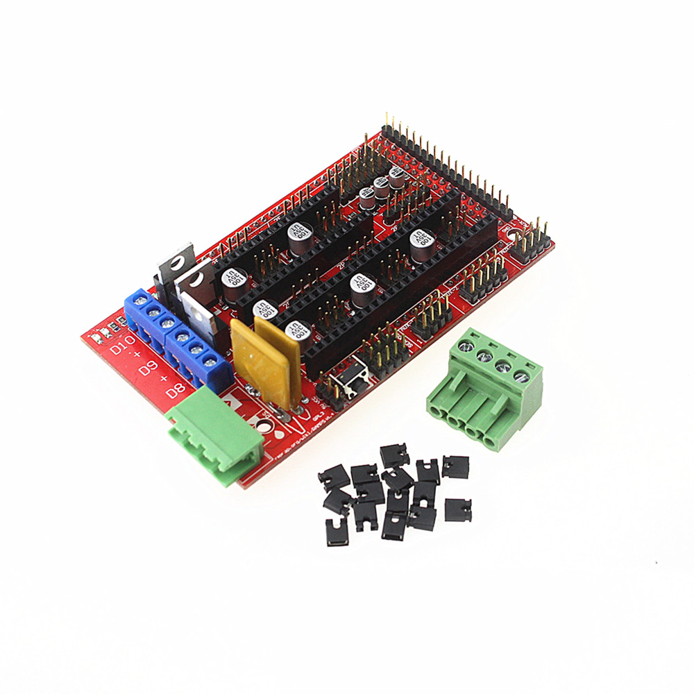 Dashing Ramps 1.4 3d Printer Control Panel Printer Control For Reprap Mendel For 3d Printer Robot Arm Diy Rc Toy Parts
