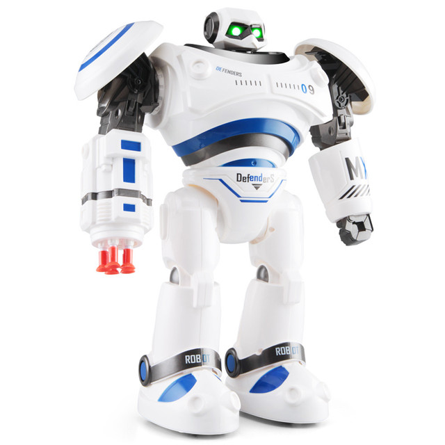 HIINST cool two colorful R1 Intelligent Programmable Walking Dancing Combat Defenders RC Robot Armor Battle Robot H30