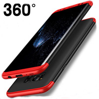 Luxury 360 Full Body Case For Samsung Galaxy S7 Edge S6 Edge Note 8 Case For