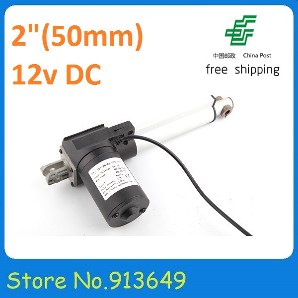 Wholesale! 12V,6000N/600KG, 50mm/2 inch stroke linear actuator ,Heavy duty linear actuator -free shippingWholesale! 12V,6000N/600KG, 50mm/2 inch stroke linear actuator ,Heavy duty linear actuator -free shipping