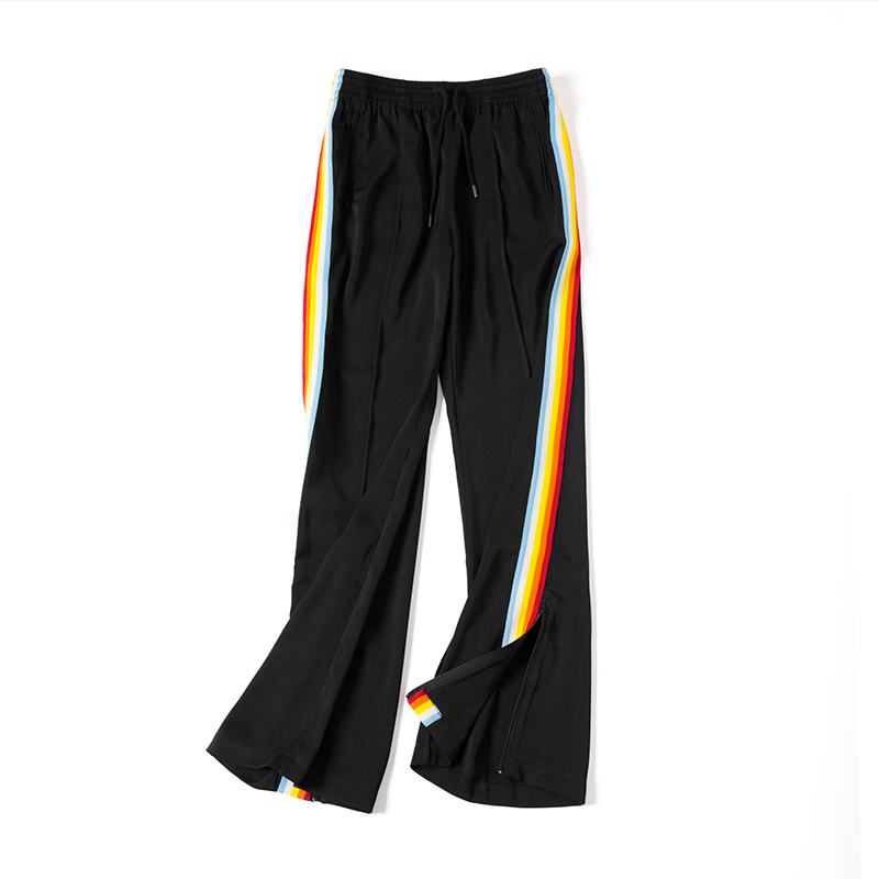 Uwback 2017 Rainbow Side Stripe Breda Benbyxor Kvinnor Höst Stripe - Damkläder - Foto 2