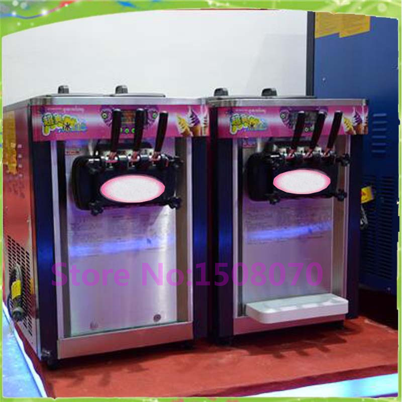 discount new premium commercial desktop ice cream machine automatic soft ice cream cone machine price edtid new high quality small commercial ice machine household ice machine tea milk shop