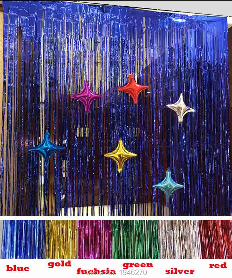 US $3 3  Oversized water curtain aluminum material party decorations Event  party supplies 2 meters Height 1 meters Width free shipping-in Party