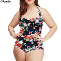 2015 One Piece Swimsuit Plus Size Swimwear Bodysuit Summer Style