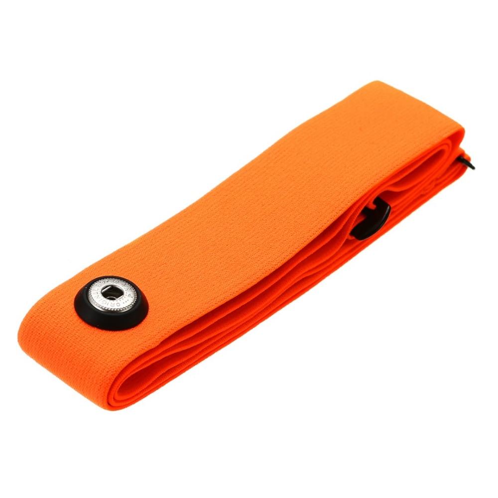Монитор сердечного ритма нагрудный ремень Bluetooth 4,0 эластичный фитнес-датчик совместимый пояс для Wahoo Garmin Polar Sport Running