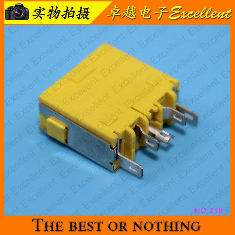 YuXi 10pcs/lot Laptop motherboard DC Power Jack connector for Lenovo G400 G490 G500 G505 Z501 10pieces lot dc power jack socket for lenovo ideapad 100 14 100 14iby 100s 14iby 100 14ibr 100s 14ibr charging port connector