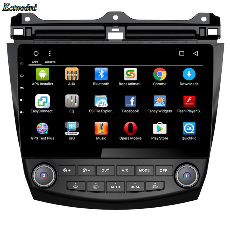 Ectwodvd 2018 Newest Octa Core Android 8 1 Car GPS Navigation for Honda  Accord 7 2004 2005 2006 Auto DVD Multimedia Player