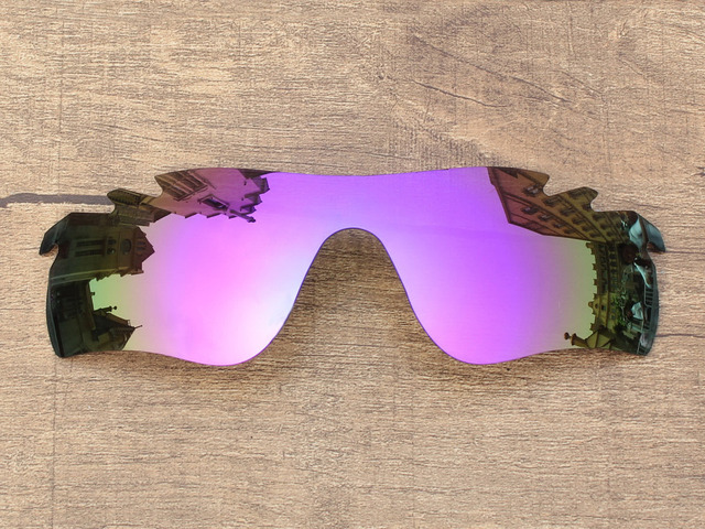 Plasma Purple Mirror Polarized Replacement Lenses For RadarLock Path Vented Sunglasses Frame 100% UVA & UVB Protection