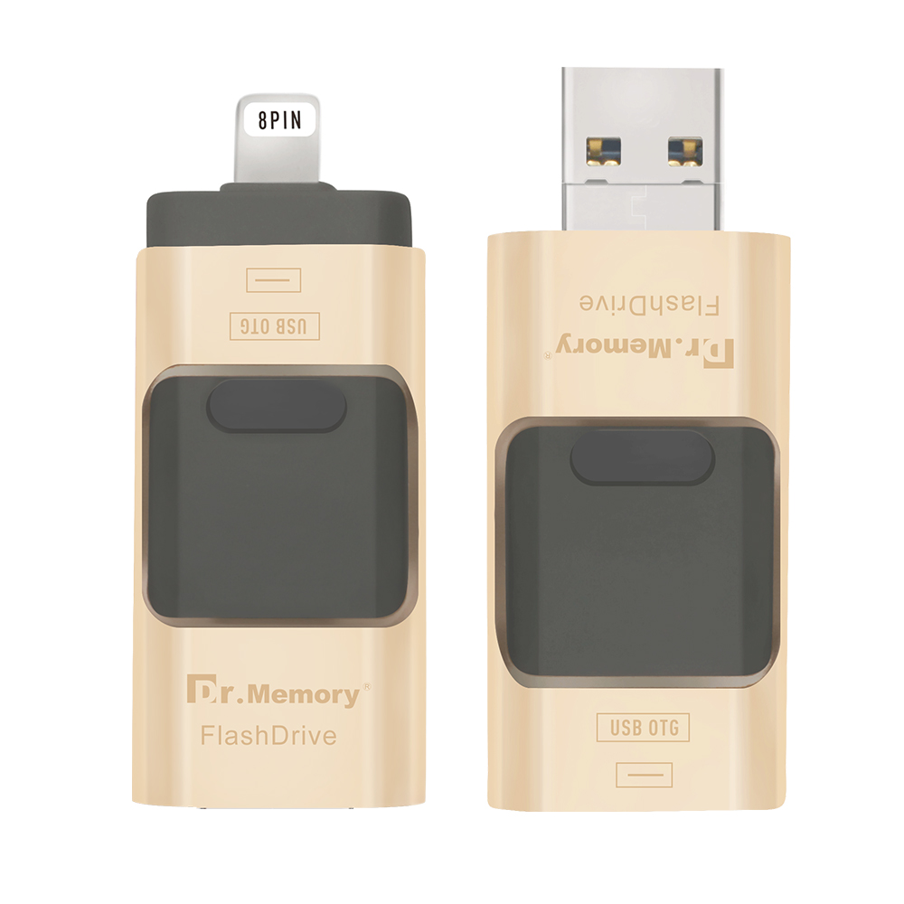 Dr Memory OTG USB Flash Drive High Speed Pen Drive for iphone 5 5s 6 6