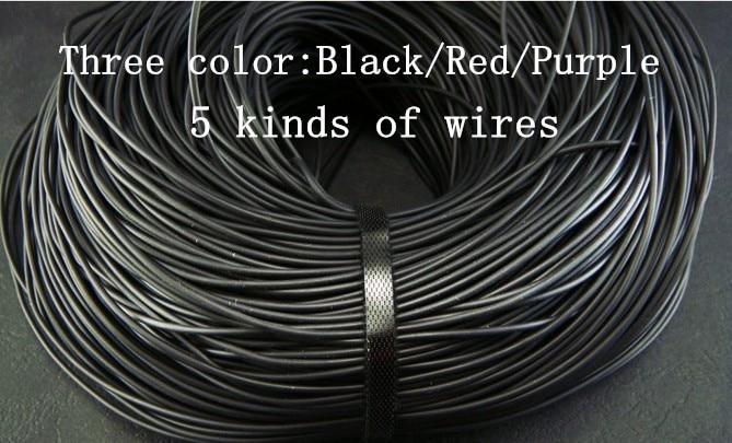 Diy earphone wire core 2core 3core 4core TPE wire 100meters