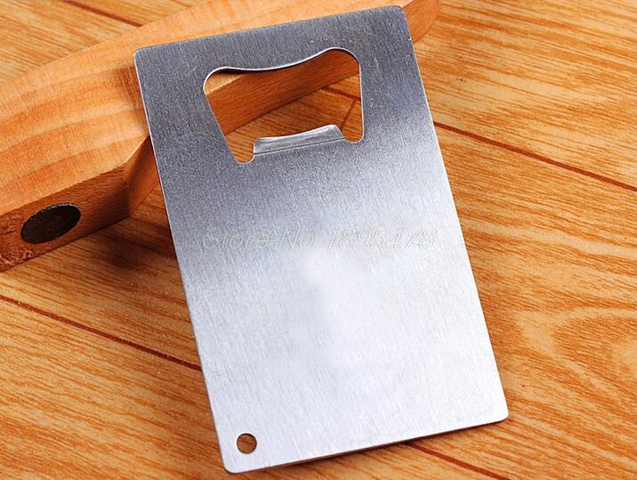600 piece free shipping wallet size stainless steel credit card 600 piece free shipping wallet size stainless steel credit card bottle opener business card beer openers in openers from home garden on aliexpress colourmoves