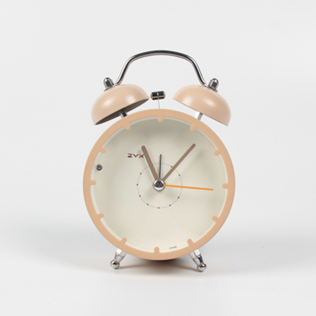 Mini Creative Cute Alarm Clock Snooze Luminous Mechanical Alarm Desk Kids Bedside Table Reveil Masa Saati Glow Clocks 50A0060