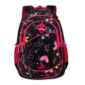Cute Girls Floral Printing Elementary School Outdoor Bag Backpack Trendy Children Kids Backpack Book Bag Student Satchel