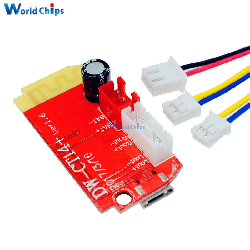 Image 2 - DC 3.7V 5V 3W Digital Audio Amplifier Board Double Dual Plate DIY Bluetooth Speaker Modification Sound Music Module Micro USB-in Integrated Circuits from Electronic Components & Supplies