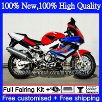 Red Blue Decal For HONDA VTR1000F SuperHawk 97 05 NEW Red Black 44C21 VTR 1000 F