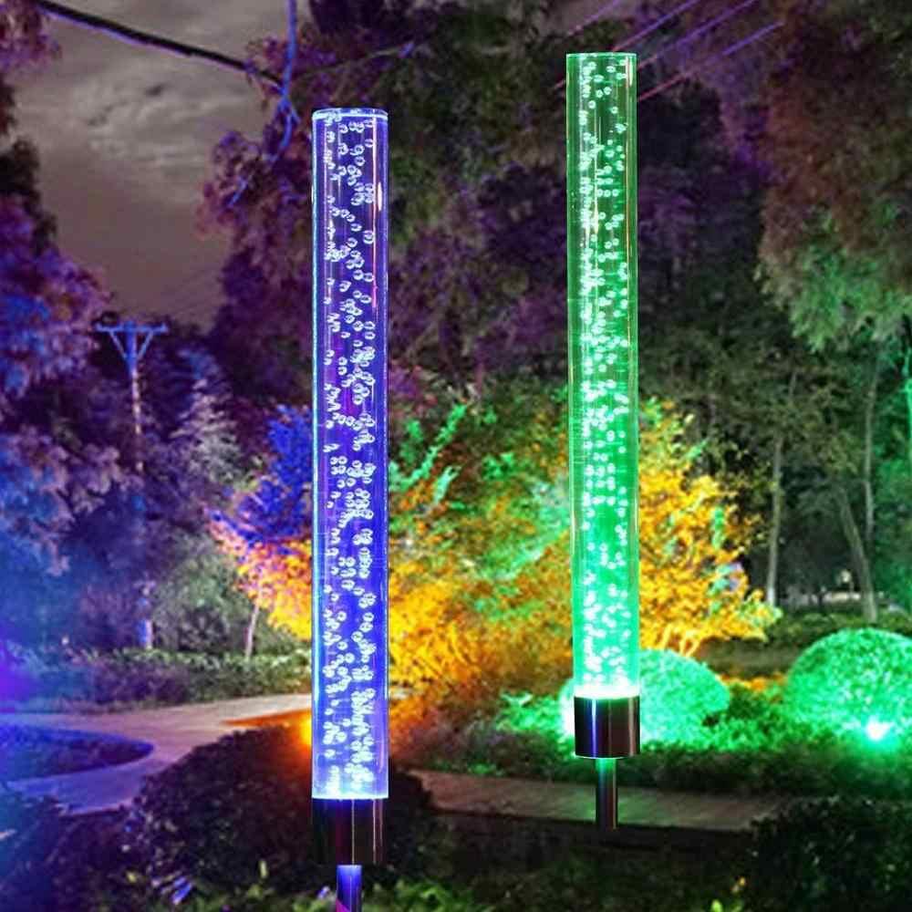 Led Garden Stake Lights Solar Ed