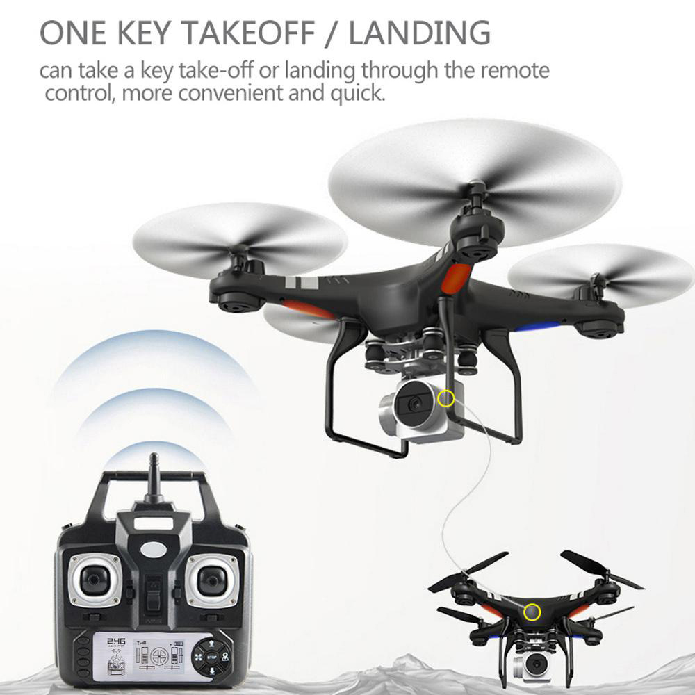 RC Drone FPV WIFI 2MP HD Camera X52HD RC Quadcopter Micro Remote Control Helicopter Uav Drones Kit Helicopter Racer Aircraft Toy