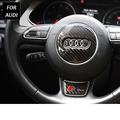 Sline Steering Wheel Steering-Wheel Carbon Fiber s line 3D Car Stickers Car Styling For Audi A1 A3 A4 A5 A6 A7 A8 Q3 Q5 Q7