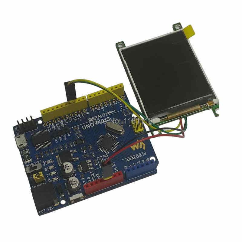 2 2 Inch UART LCD TFT Display Module with FLASH Colorful Screen Serial Port  for Arduino Raspberry Pi STM32 Computer PC