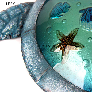 Image 5 - Turtle Metal Wall Artwork for Garden Decoration Outdoor Statues and Animal Miniatures Accessories Sculptures