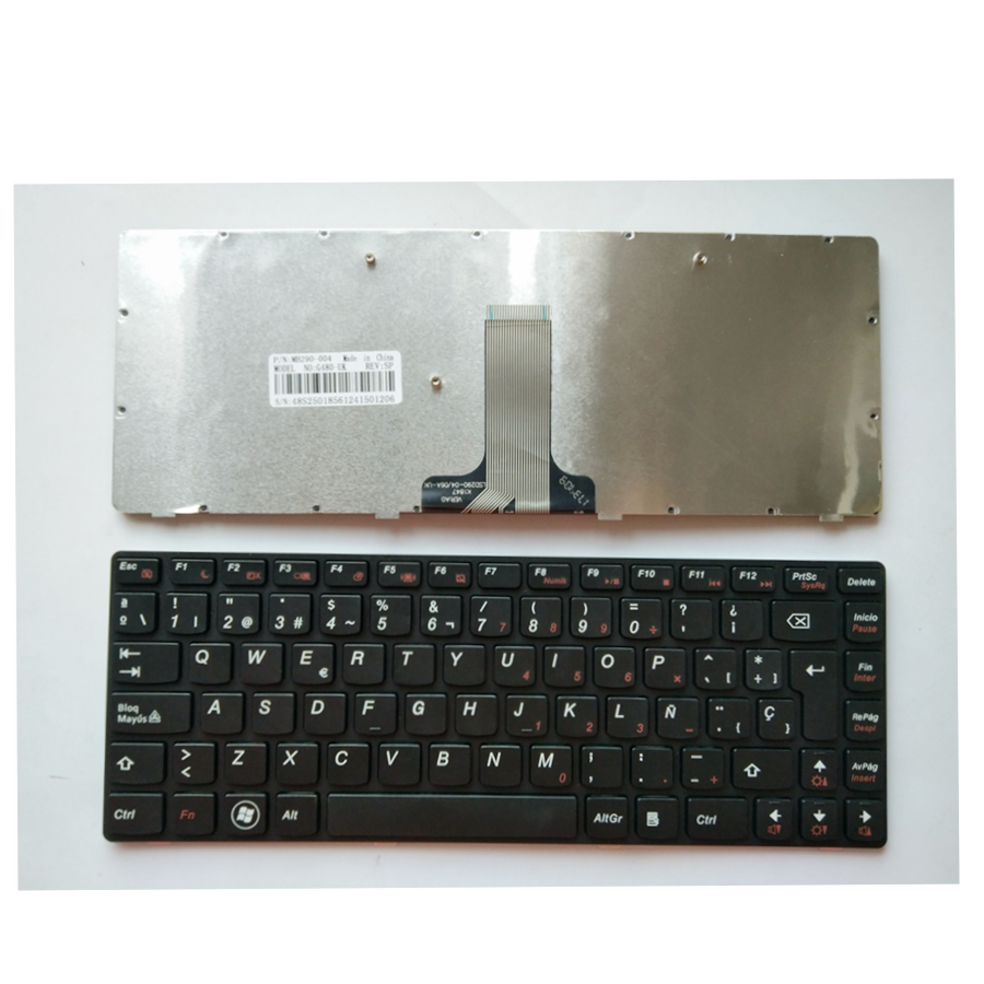 Spanish New Laptop <font><b>Keyboard</b></font> For <font><b>Lenovo</b></font> G480 G485 Z380 Z480 Z485 <font><b>G410</b></font> G490 G405 B480 B485 SP image
