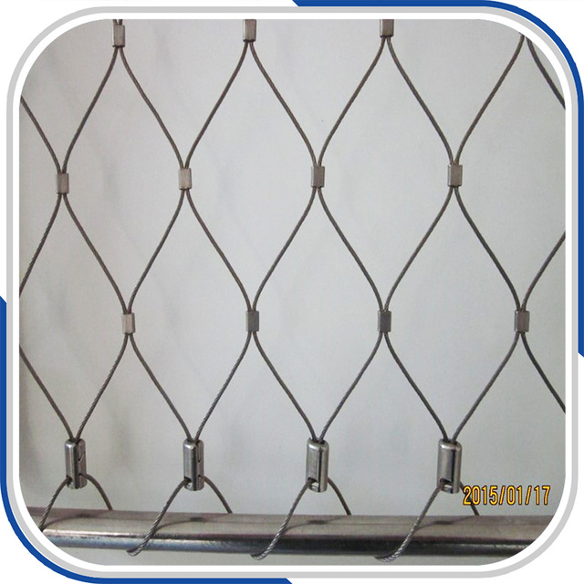 Customized x tend inox cable wire mesh for balustrade and railing-in ...