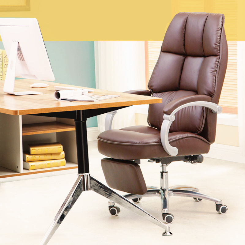 Luxury Fashion Modern Household Office Leisure Lifting Boss Chair Lying Multifunctional Rotary Computer Chair With Footrest vine sfere comter fashion leisure plastic creative office conference household cr free shipping