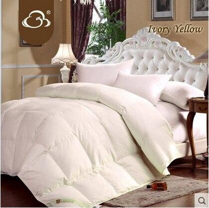 White Goose Down Comforter Brands edredon casal solteiro edredom