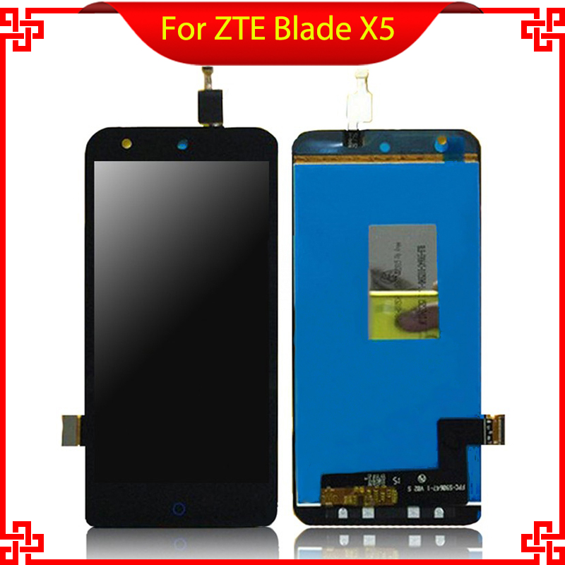 5.0'' Full LCD Display For <font><b>ZTE</b></font> Blade X5 / Blade D3 <font><b>T630</b></font> Touch Screen Digitizer Assembly Replacement 100% Tested image