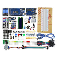 Free Shipping Super Starter Kit For Arduino UNO R3 And Mega2560 Board For LCD Servo Motor