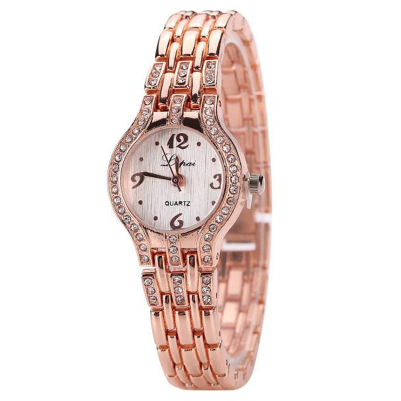 Lvpai Vente chaude de режим De Luxe Femmes Montres Femmes браслет montre Часы Daniel Wellington gear S3 ремешок из металла