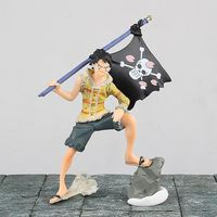 Anime een stuk Verhaal stuk luffy Shirahoshi Edward Newgate model pvc action figure classic collectie speelgoed pop