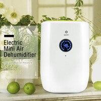 Electric Mini Portable Air Dehumidifier for Home LED Display Electric Room Dehumidifier Purifier Machine 800ml Large Capacity