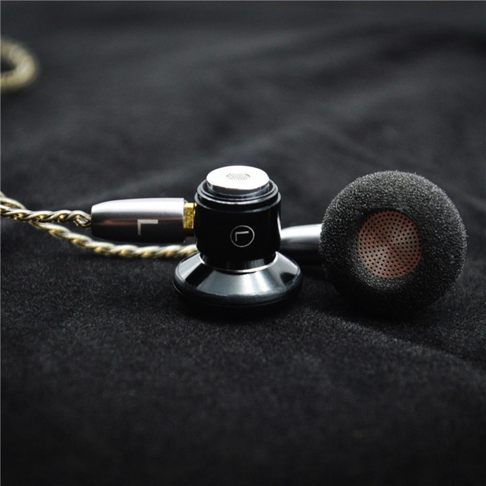 100% Nieuwste FENGRU DIY Platte hoofd Metalen oortelefoon DIY Dynamic Drive Unit oortelefoon HiFi oortje met MMCX Interface - 3