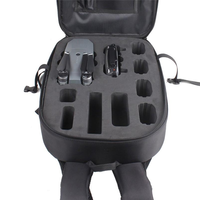 2017 Hard Shell Carrying Gray Backpack bag Case Waterproof Anti-Shock For DJI Mavic Pro top handle made of aluminum alloy 2