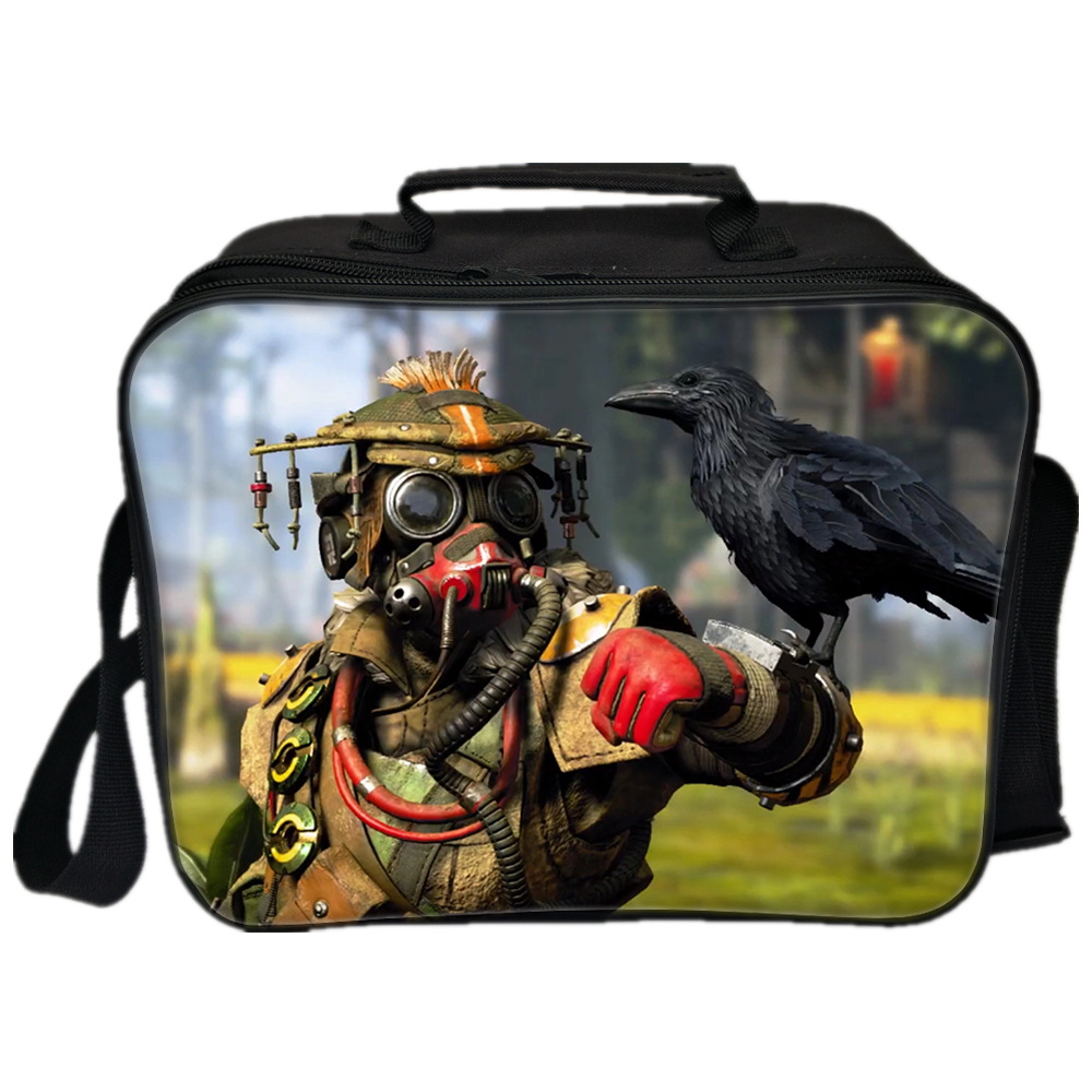 a958c3bd6f5d 2019 Battle Royale Game Apex Legends Lunch Bags For Men Women Two Layer  Lunch Bags For Kids Food Bag Orange Box Bags School Gift