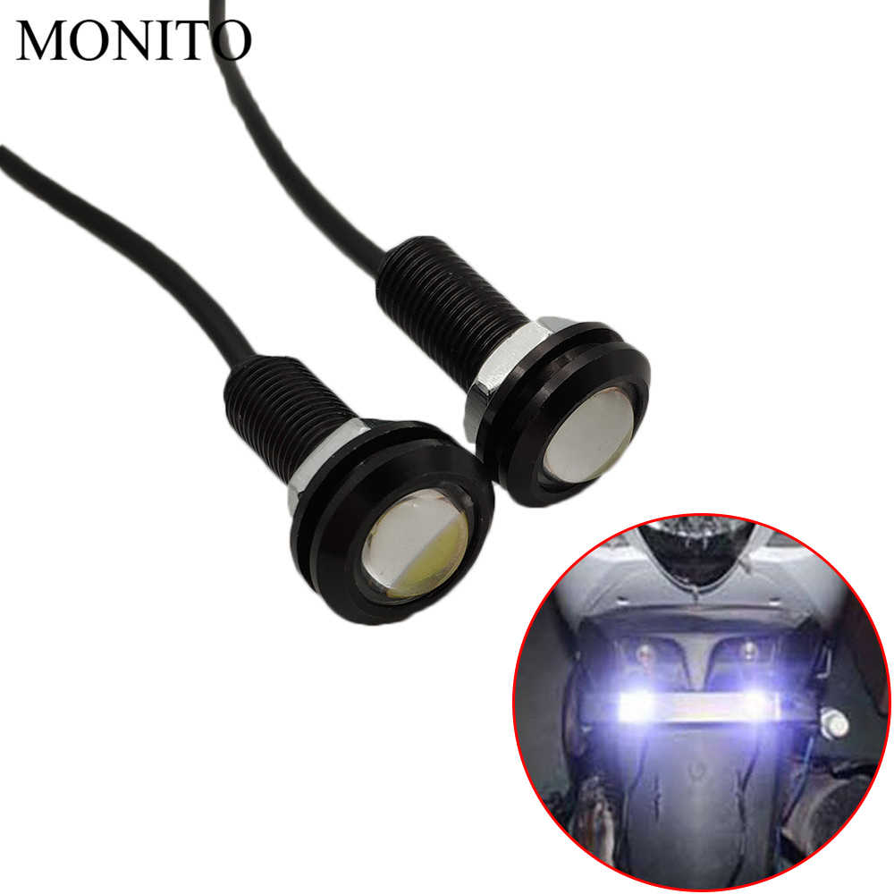 Motorcycle Eagle Eye LED Strobe Light DRL Daytime Running Signal Lamps For KAWASAKI ZG1000 ZRX11 ZX11 ZX7R ZX9 ZZR12 ER5 ER 6N