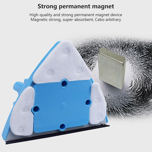 Image 4 - المغناطيسي مُنظف نوافذ فرشاة تنظيف الزجاج تنظيف قابل للتعديل المغناطيسي فرشاة لغسل 4 29 مللي متر زجاج نافذة تنظيف أداة