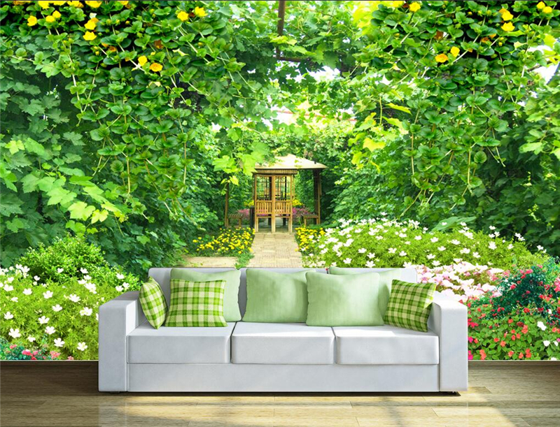 wallpapers youman custom 3d wall mural nature in landscape green