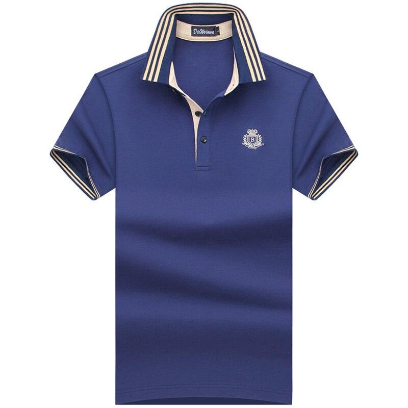2019 Summer Classic Brand Men Shirt Men Polo Shirt Short Sleeve Polos Shirt T Designer Polo Shirt Plus Size 6XL 7XL 8XL 9XL 10XL
