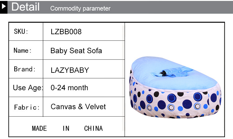 Cool Lazybaby Large Baby Bean Bag Chair Circle Kids Bed For Andrewgaddart Wooden Chair Designs For Living Room Andrewgaddartcom