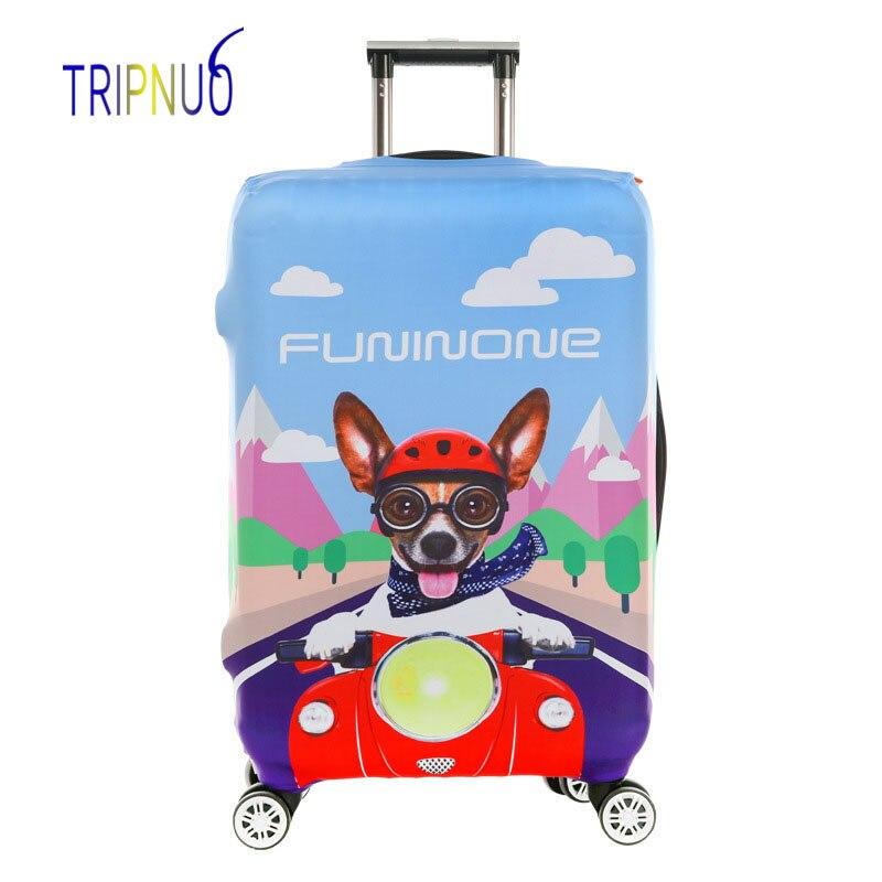 TRIPNUO собака чемодан Футляр тележки чемодан защитная крышка для 18-32 дюймов дорожные аксессуары Чемодан крышка