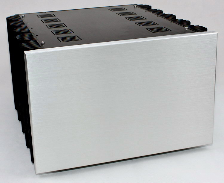 WF1180 Deluxe aluminum Enclosure Class A Power Amplifier Chassis Big Case DIY Box For Audio Amp 407*260*425mm wf1185 aluminum enclosure class a hifi amplifier chassis preamp case audio amp box luxury cabinet 435 155 392mm