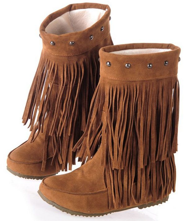 Online Get Cheap 3 Layer Fringe Boots for Women -Aliexpress.com ...