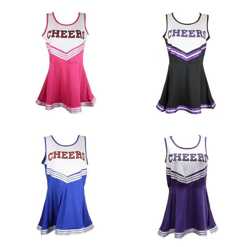 Sexy Womens Cheerleader Costume
