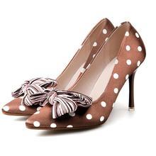 2019 Silk Women Pumps Shoes High Heels 9