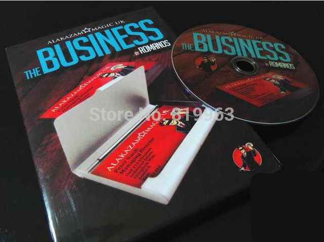 The Business Dvd And Gimmick By Romanos And Alakazam Magic Trick